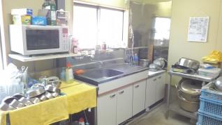 老犬ホームトップ キッチン