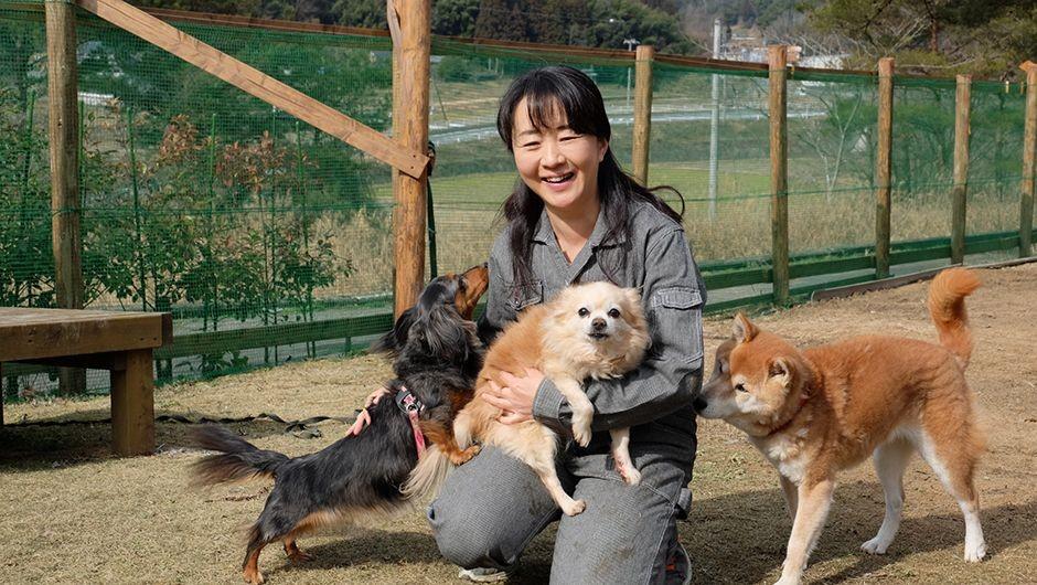 老犬ホームあん 福島純子