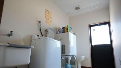 いぬのケアハウスシェリーふくおか 洗濯室