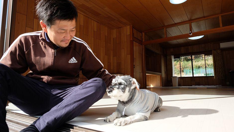 老犬ホームJiJi介護風景