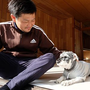 老犬ホームJiJi 介護風景
