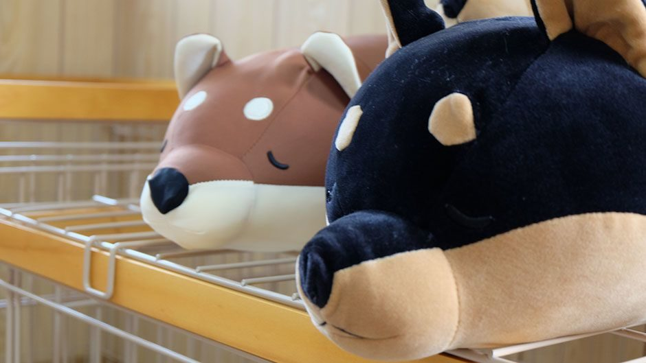 老犬ホーム・KOMUGI 柴犬のお人形