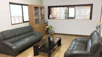 高齢猫専門移住受入施設 ちびママの家_事務室兼面会室