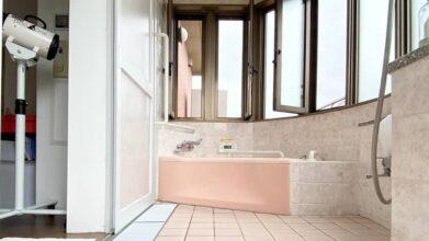 シニアドッグホームピンキー_バリアフリーのお風呂